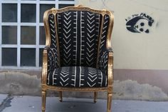 Ohrensessel- ein arabischer Prinz - Sit-In Decor, Furniture, Chair, Home, Wingback Chair, Accent Chairs, Home Decor
