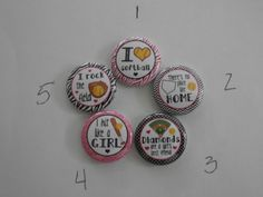 Softball Flatback Buttons Handmade-Necklace by CustomCraftJewelry