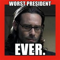 Well, I mean, in theory it probably could have gone worse.   Gaius Balter & Battlestar Galactica