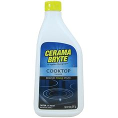 Cerama Bryte(R) 20618 Ceramic Cooktop Cleaner (18oz Bottle)