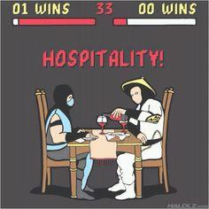 Mortal Kombat + hotel industry = haha