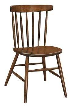 amish hansen side dining chair