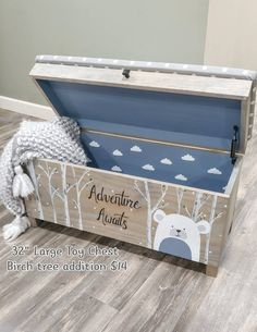 Your place to buy and sell all things handmade Toy box Rolling toy box Toy bin Kids toy chest wood Large Toy Chest, Kids Toy Chest, Boys Toy Box, Kids Toy Boxes, Toys For Boys, Boy Box, Wood Kids Toys, Wood Toys, Homemade Kids Toys