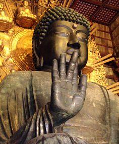 Large Bronze Buddha; Nara, Japan
