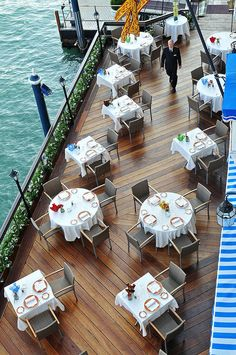 Hotel Gritti Palace, Venice; Terrazza Gritti - I had breakfast on this terrace one time...very nice!