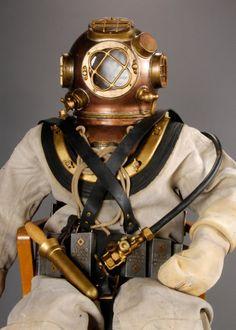 """""""Men of Honor"""" dive suit from Robert De Niro's collection"""