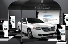 "Campaña BTL, Lincoln ""Smarter than Luxury"" www.pluiedeideas.com.mx"