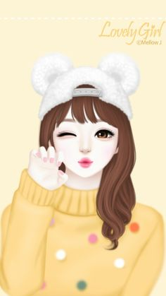 Image shared by 𝐆𝐄𝐘𝐀 𝐒𝐇𝐕𝐄𝐂𝐎𝐕𝐀 👣. Find images and videos about girl, fashion and cute on We Heart It - the app to get lost in what you love. Cartoon Girl Images, Cute Cartoon Girl, Cute Love Cartoons, Anime Girl Cute, Anime Art Girl, Cute Baby Girl Wallpaper, Cute Kawaii Girl, Lovely Girl Image, Cute Girl Drawing