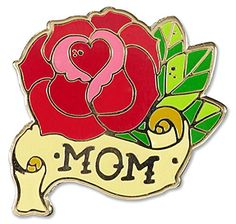 Mom - Hard Enamel Pin (Cloisonne Pin) Peter Pauper Press,... www.amazon.com/...