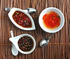 Three different Thai Chili Pepper Sauce recipes via Jeanette's Healthy Living. Dr. Oz states that hot peppers can help you boost your metabolism by 20%.