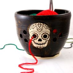 The slightly macabre way to manage yarn. #etsy #etsyfinds