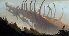 Tomb of Dragons, HeeWann Kim on ArtStation at http://www.artstation.com/artwork/tomb-of-dragons