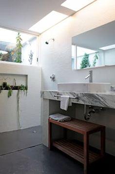 A-778: Baños de estilo  por DF ARQUITECTOS https://www.homify.com.mx/libros_de_ideas/3017219/15-muebles-para-el-bano-que-te-puede-hacer-el-carpintero-ya