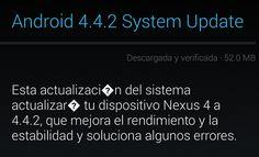 Google libera la actualización a Android 4.4.2 (KitKat) para los Nexus