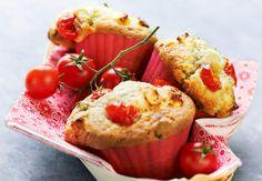 Muffin aux tomatesVoir la recette du Muffin aux tomates >>