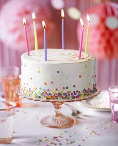Wonderful Photo of Birthday Cake Images Birthday Cake Images Vanilla Party Cake Recipe Bbc Good Food Cake Recipes Bbc, Bbc Good Food Recipes, Vanilla Cake Recipes Uk, Birthday Cake Pictures, Cool Birthday Cakes, Happy Birthday, Birthday Cake With Candles, Birthday Ideas, Dot Cakes