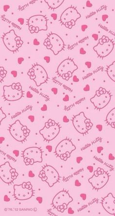 Hello Kitty Wallpaper For iPhone wallpaper. Sanrio Wallpaper, Cat Wallpaper, Kawaii Wallpaper, Pattern Wallpaper, Trendy Wallpaper, Wallpaper Wallpapers, Wallpaper Ideas, Wallpaper Stickers, Purple Wallpaper
