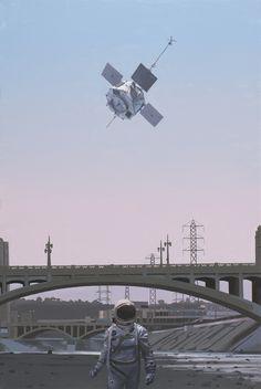 """SUPERSONIC ART: Scott Listfield's """"Once An Astronaut."""" Opening..."""