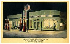Roarin' Rohrer, Oklahoma, 1930's - art deco streamline style