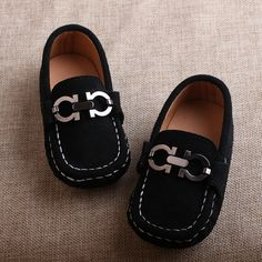High Quality Kids Shoes Boys Girls Genuine Leather Shoes Soft Sole Comfortable Baby Moccains 2016 Autumn Casual Flat Loafers