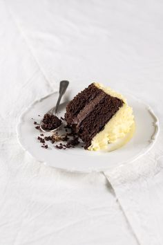 chocOlate orange ruffle cake