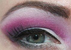 Sugarpill Sooty Dollipop Tutorial @Sugarpill Cosmetics Cosmetics #sugarpill #pink #purple #white #makeup #crueltyfree #tutorial #hoodedeyes