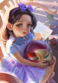 — Morgan Stark by Star Academy Marvel E Dc, Marvel Avengers, Marvel Universe, Marvel Girls, Next Avengers, Avengers Girl, Marvel Characters, Marvel Movies, Iron Heart Marvel