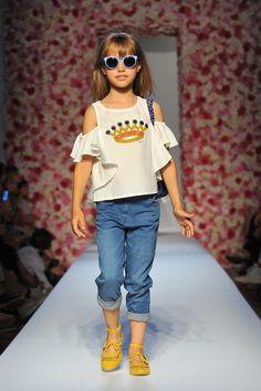 Monnalisa Spring/Summer 2017 Fashion Show Palazzo Corsini, Florence June 23rd, 2016 #FashionShow #Monnalisa #Chic #Catwalk #Runway