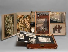 Artist : Marcel Duchamp  Title : The Box in a Valise