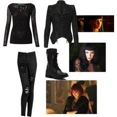 Ksenia solo's outfit as kenzi in lost girl