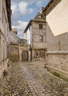 ✯ Street in Normandy, France