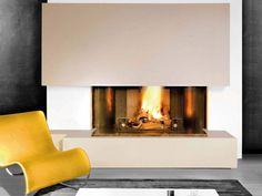 Foyers, Home Decor, Google, Home Decoration, Concrete Fireplace, Traditional Fireplace, Open Set, Bonfires, Toulon
