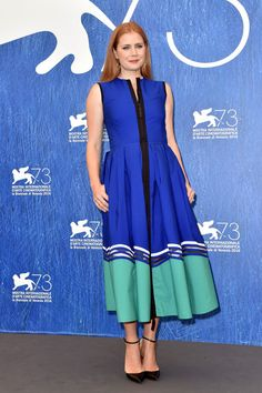 "Amy Adams in Fendi at the ""Arrival"" Photocall during the 73rd Venice Film Festival"