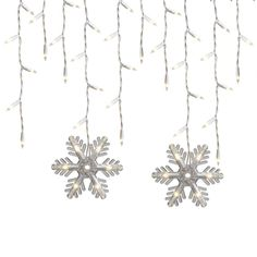 GE, 150-Count Constant White Mini Incandescent Plug-In Christmas Icicle Lights