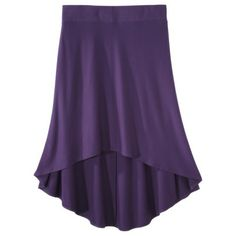 Mossimo® Women's Plus-Size High Low Skirt - Assorted Colors