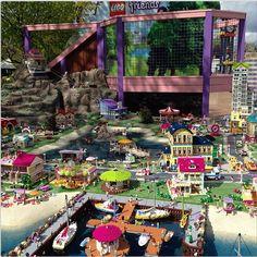 Heartlake Times: Friends display at Legoland Billund