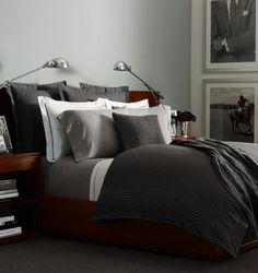 Shop Home's Bedding Collections at RalphLauren.com, the Official Site of Ralph Lauren. Grey Haberdashery Collection - Handsome pinstripes adorn our luxurious cotton sateen Grey Haberdashery Collection—a refined addition to any interior.