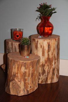 WOOD boomstammetjes (bewerkt) perfect toch?! Voor van alles en nog wat!! Met liefde gemaakt door: www.wooddesign.jouwweb.nl