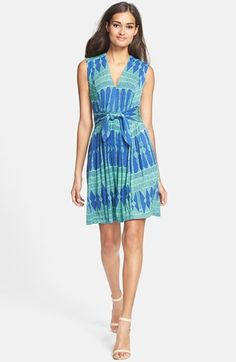 Plenty by Tracy Reese 'Joanne' Print Jersey Fit & Flare Dress