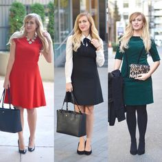 Work day outfits that are perfect for the office or a business meeting. Click through for more outfits and all the details!