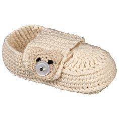 Hand Crocheted Baby Shoes