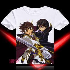 Code Geass Short Sleeve Anime T-Shirt V14