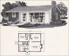 Mid Century Modern House Plans | House plans / Retro Mid Century Modern Plan - Weyerhauser Design No ...