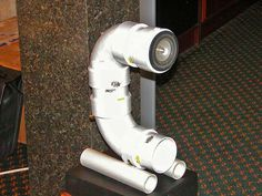 Diy boxless speakers based on pvc pipe