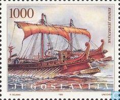 Postage Stamps - Yugoslavia - Adria