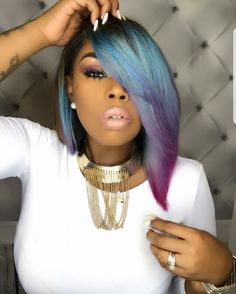 Hair inspiration ➿ Get this look by shopping Foreign Strandz Using one of our many textures & follow us on IG @foreignstrandz Visit one of 3 locations 12103 Union Ave Cleveland, Oh 44105 20526 Southgate Park Blvd. Maple Heights, Oh 44137 623 S Hamilton Rd Columbus, Oh or shop online at www.foreignstrandz.com
