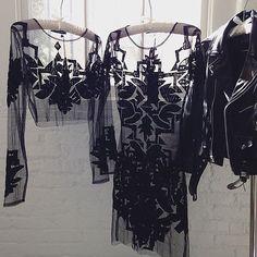 Friday's silhouettes ✨ #BeadedVelvet #ViennaMiniDress #ForLoveAndLemons  Shop with link in bio.