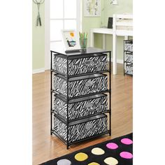 Altra Zebra 4-Bin Storage/ End Table - Overstock™ Shopping - Great Deals on Altra Other Storage