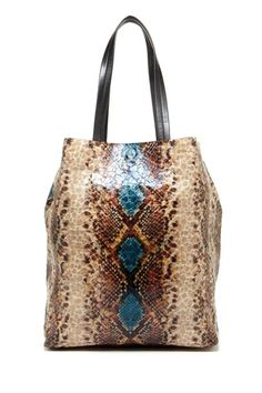 Sorial Croc Embossed Tote by Bag It For Fall.. LOVE this one