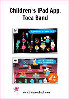 The Book Chook: Children's iPad App, Toca Band #edtech